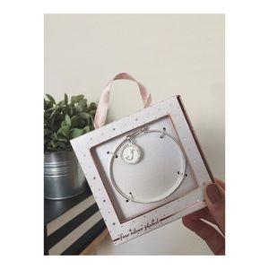 Accessories - Silver 'J' Bracelet